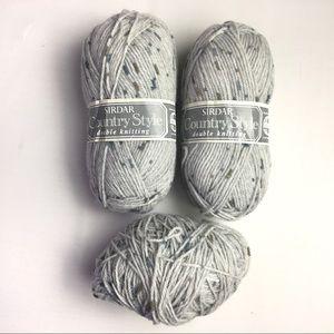 Sirdar County Style Yarn 50g Shade 496 Lot 981